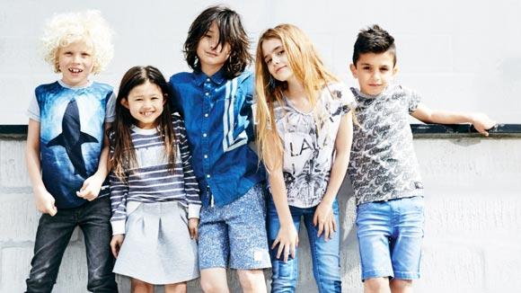 Tøj- og skostørrelser til børn