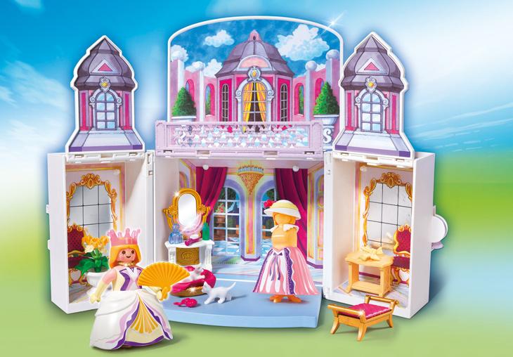 Playmobil legeboks Prinsesse slot