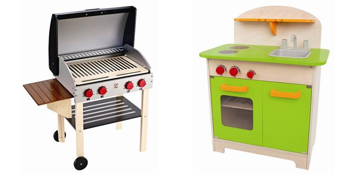 Legekøkken og grill fra Hape