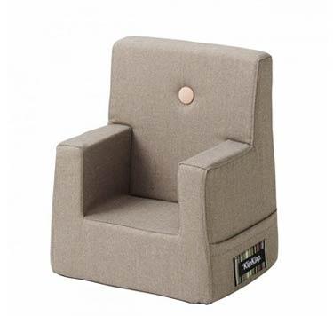 KK Kids chair varm grå