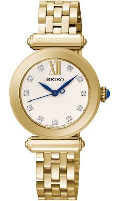 Seiko ur med guld lænke