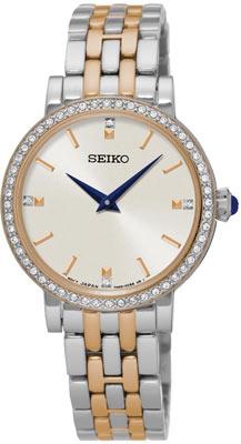 Seiko ur med stål lænke