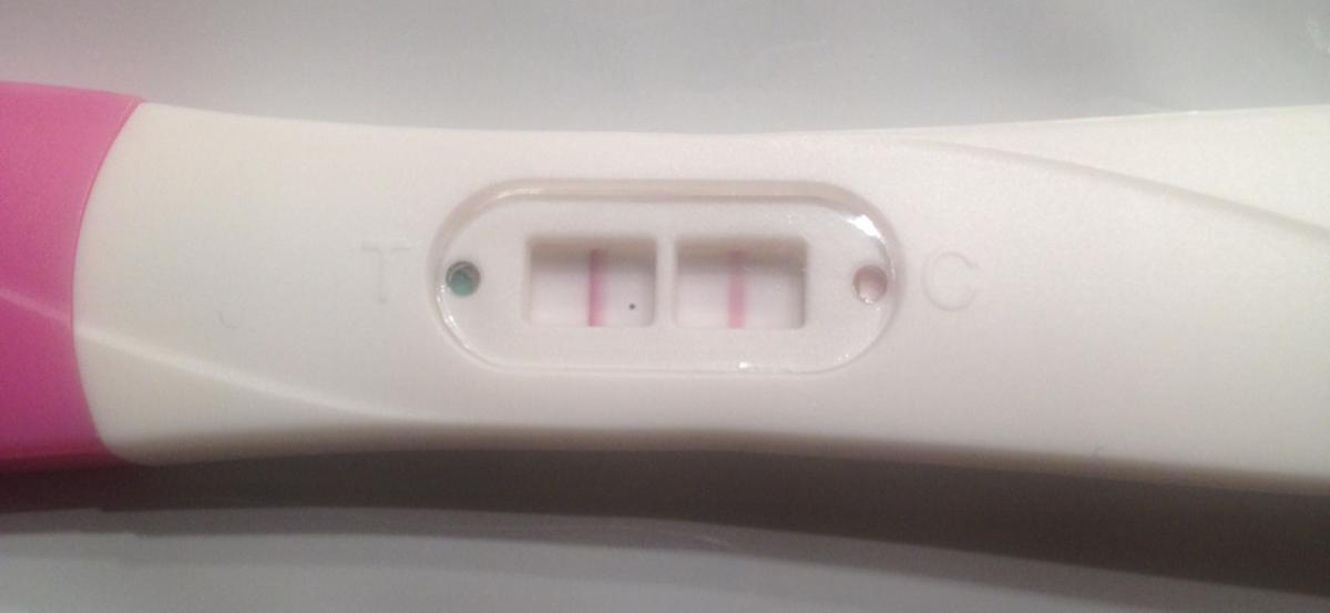 Positiv graviditetstest efter abort
