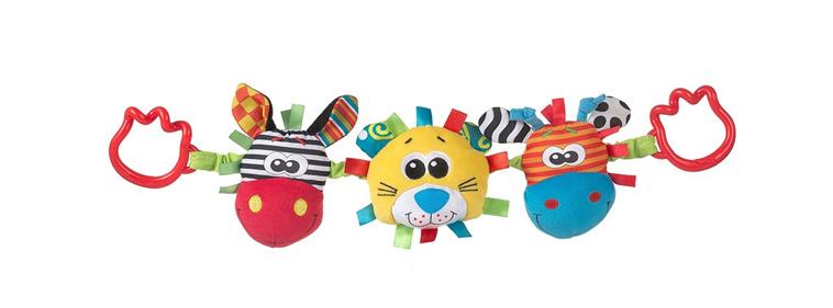 Happy Baby Jungledyr Rangle til Barnevogn