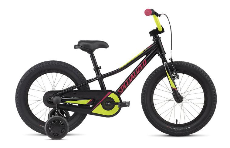 børnecykel med støttehjul