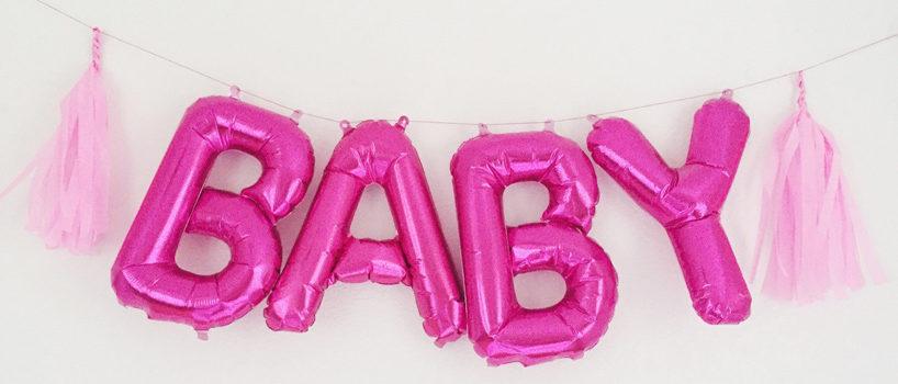 Ballon bogstaver og tal
