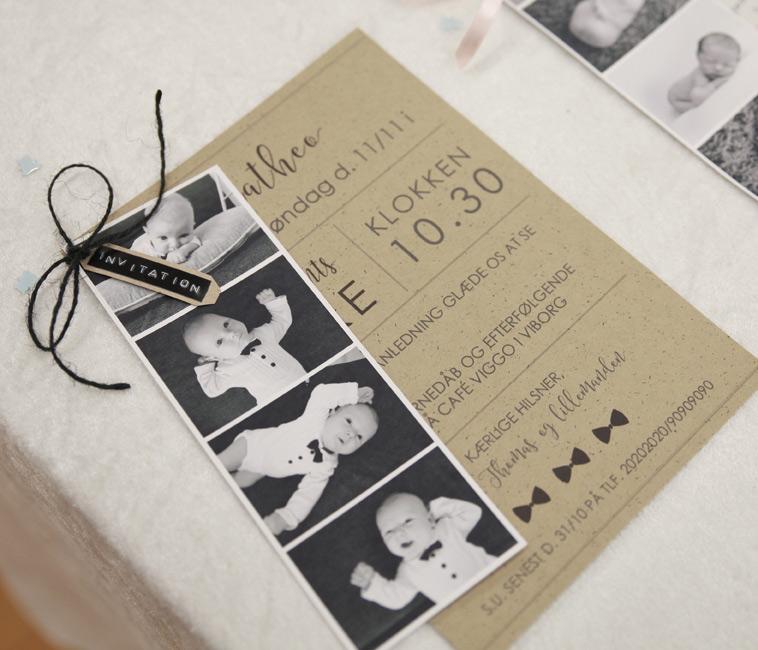 køb færdige designs og få de fineste invitationer til dåben