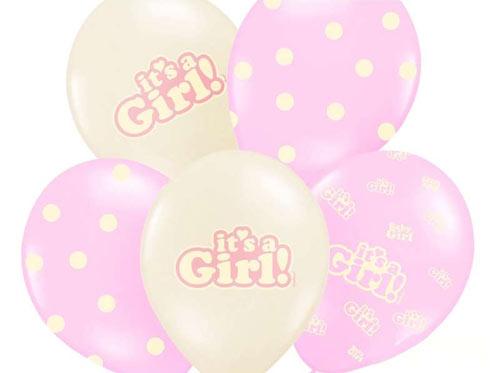 lyserøde balloner