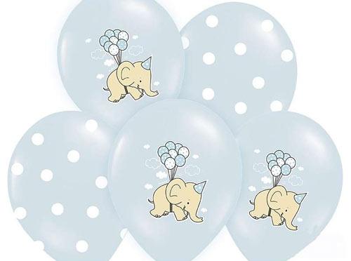 lyseblå balloner