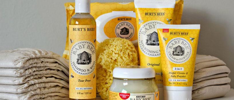 Burt's Bees baby pleje produkter