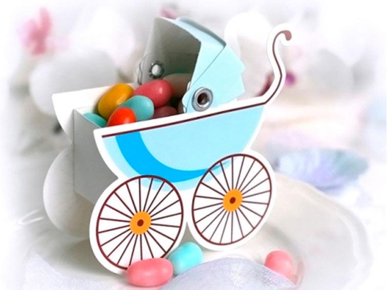 favourbox udformet som barnevogn