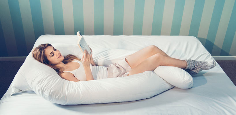 Oprindeligt Fossflakes Comfort U pude – god støttepude til gravide HS98