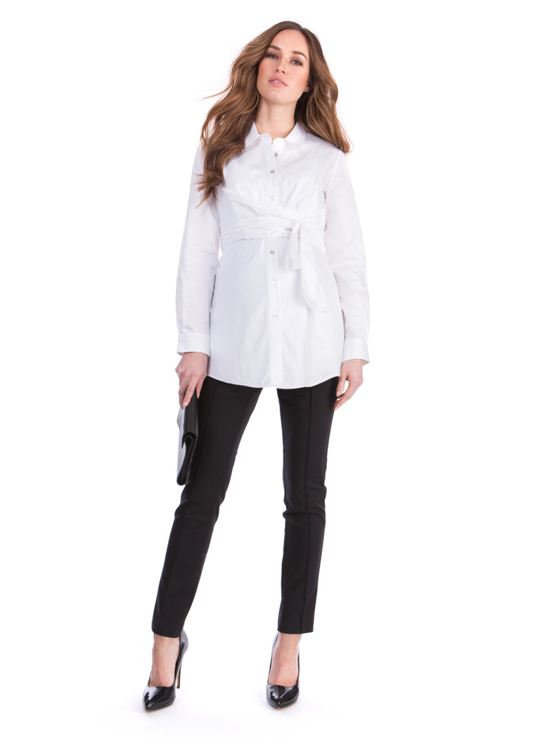 hvid-skjorte-med-bindebånd