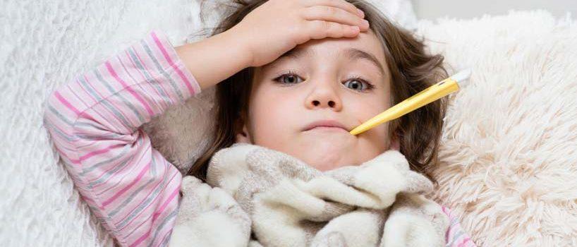 Influenza hos børn