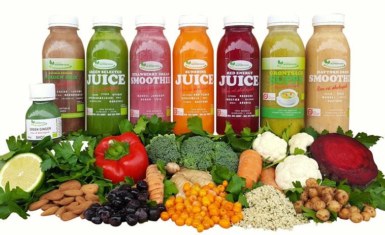 Lækre juicer fra Living Superfood