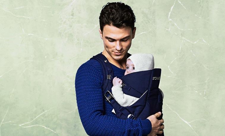 Bæresele med baby