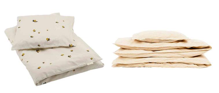 Sengetøj fra Konges Sløjd og Studio Feder