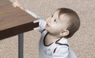 Børnesikring af skarpe hjørner og kanter