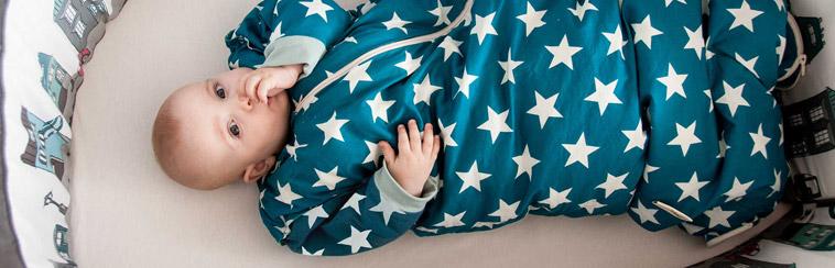 barn i sovepose