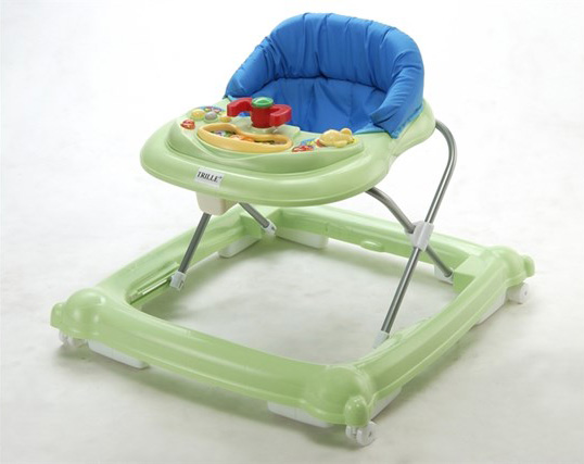 grøn gåstol fra Trille