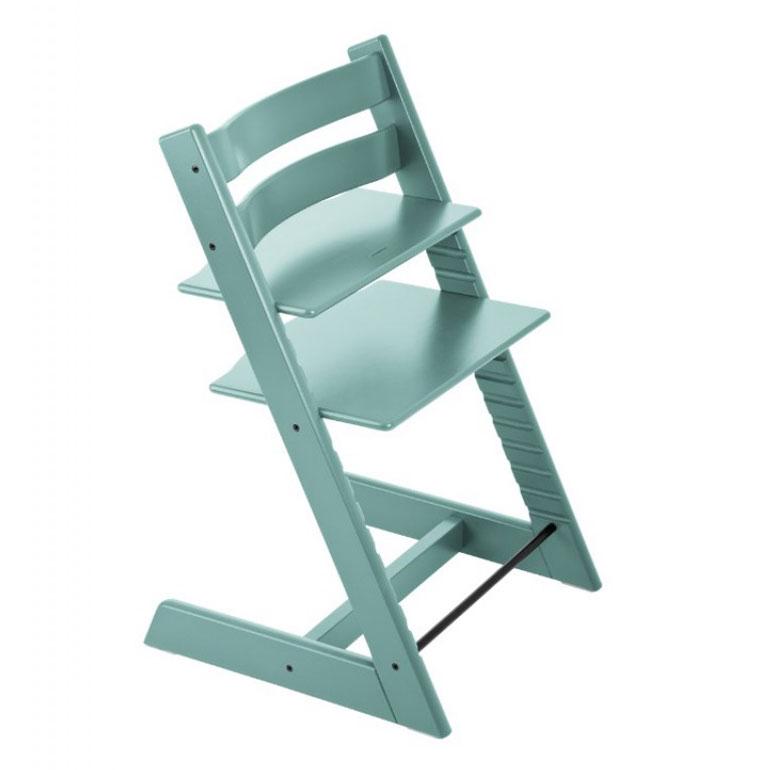 Tripp trapp stol blå