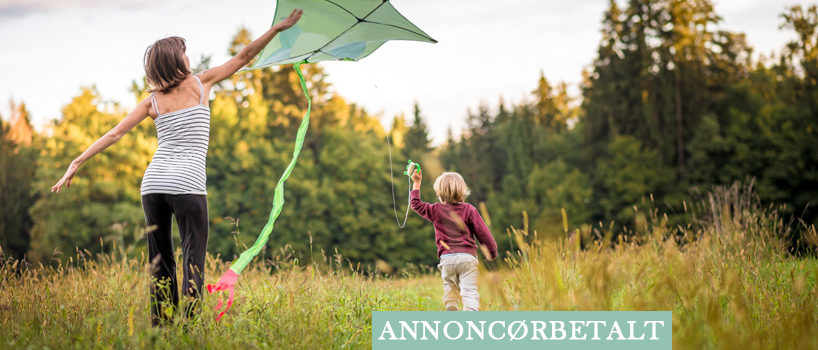 5 ting du kan lave udenfor med dit barn
